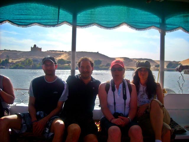 crucero por el Nilo en Egipto