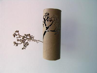handi craft BEKAS GULUNGAN TISU TOILET