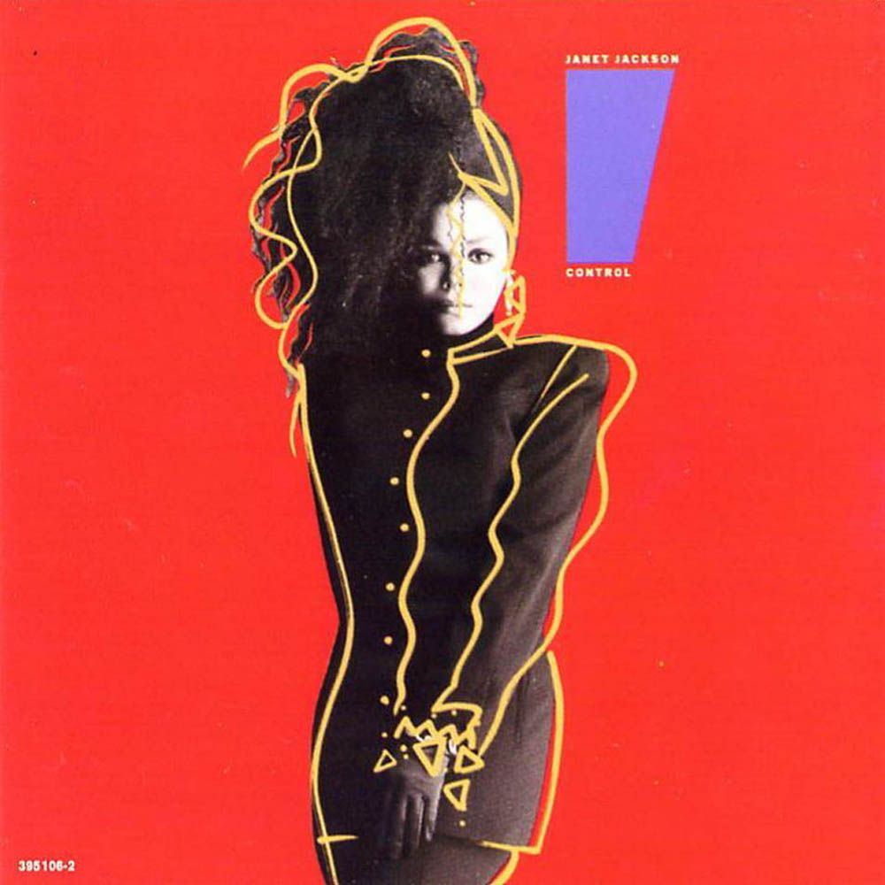 Control Janet Jackson Album Cover To a lot of albums.