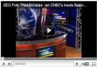 SEO Firm-ThinkBIGsites on CNBC's Inside Business Named as industry leaders in Internet Marketing