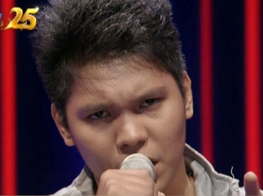 Foto Sony Saragih Rising Star Indonesia