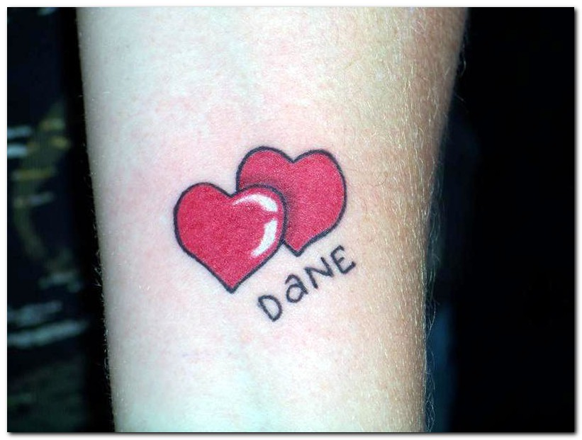Heart Tattoo Designs With Kids Names Name Tattoo Designs