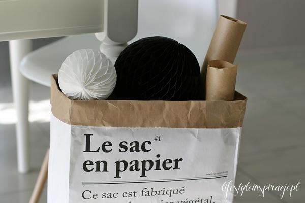 lifestyle inspiracje le sac en papier. Black Bedroom Furniture Sets. Home Design Ideas