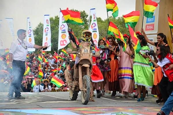 Dakar Por Bolivia - Rally Dakar - Chavo Salvatierra - Bolivia