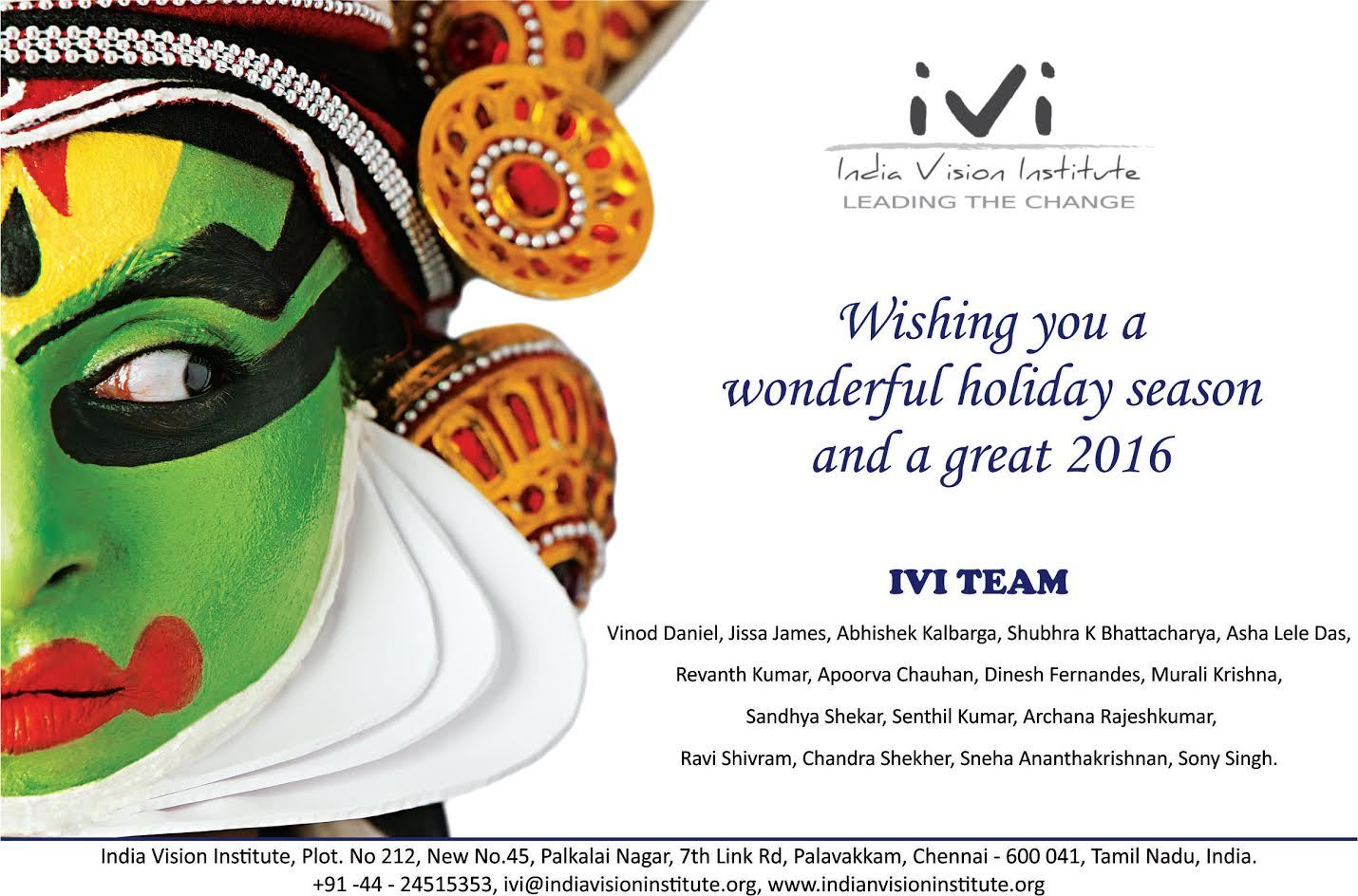 Happy New Year from Team IVI | Slogans, Catch lines and Tag lines