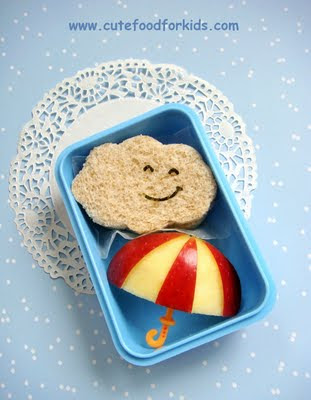 cute kid foods, bento box