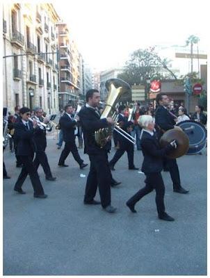 Els músics, una part molt important de la festa de les Falles (Francesc Arnau i Chinchilla)