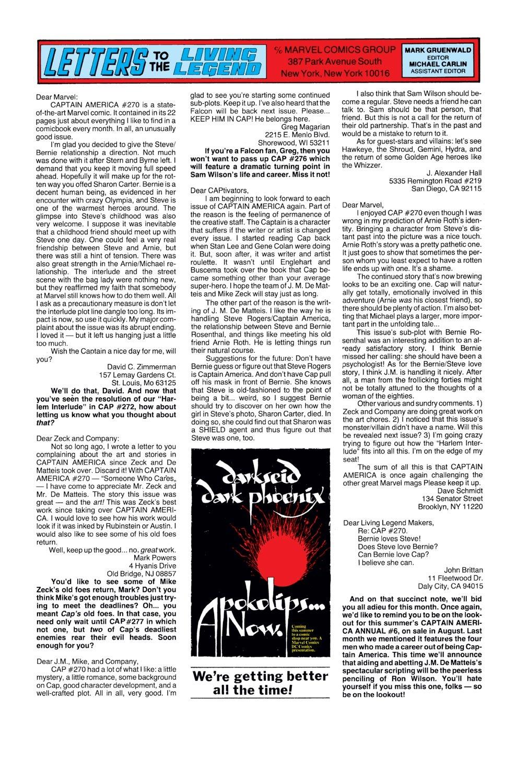 Captain America (1968) Issue #274 #190 - English 24