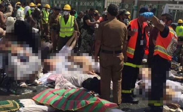 Tragedi di Makkah: Ratusan jemaah haji maut dalam rempuhan di Mina