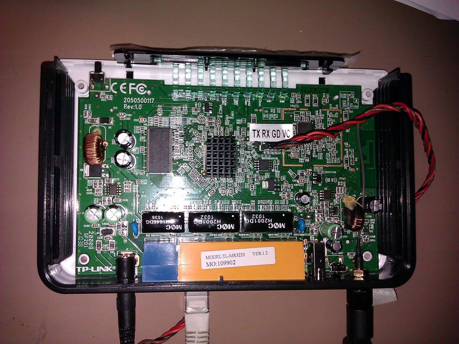 OpenWrt Project: TP-Link TL-MR3420 & TL-MR3220