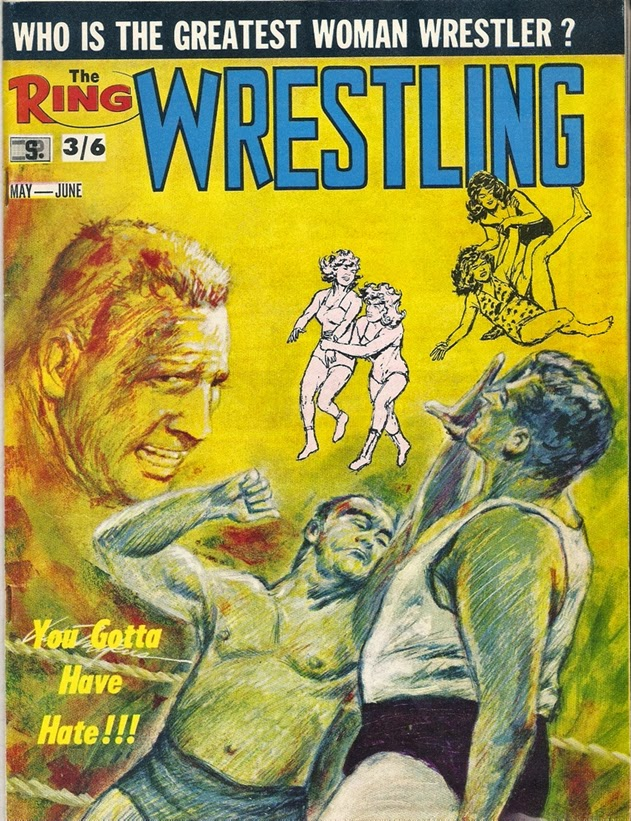 1960s wrestling magazine