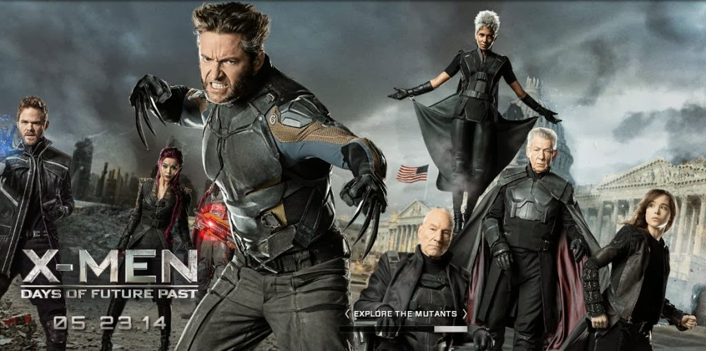 "Wallpaper / Banner of ""X-Men: Days of Future Past"""