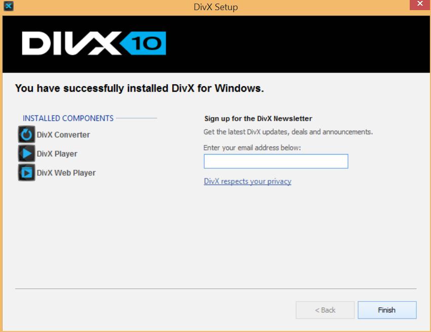 DivX Software Version History DivX