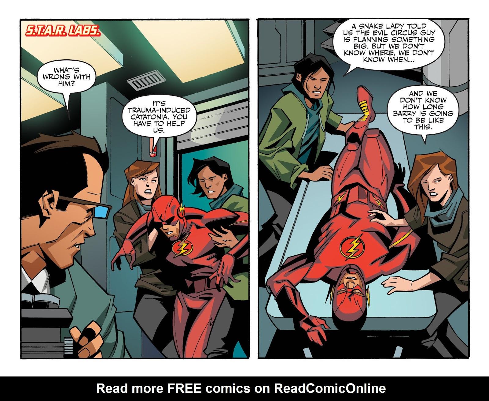 The Flash: Season Zero [I] Issue #6 #6 - English 21