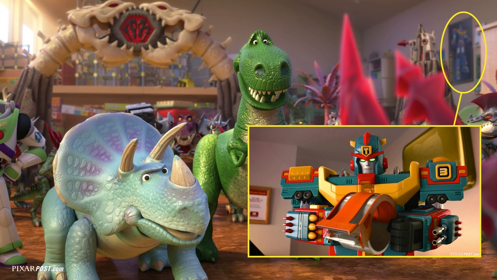 In Depth Look At The Easter Eggs Hidden In Toy Story That