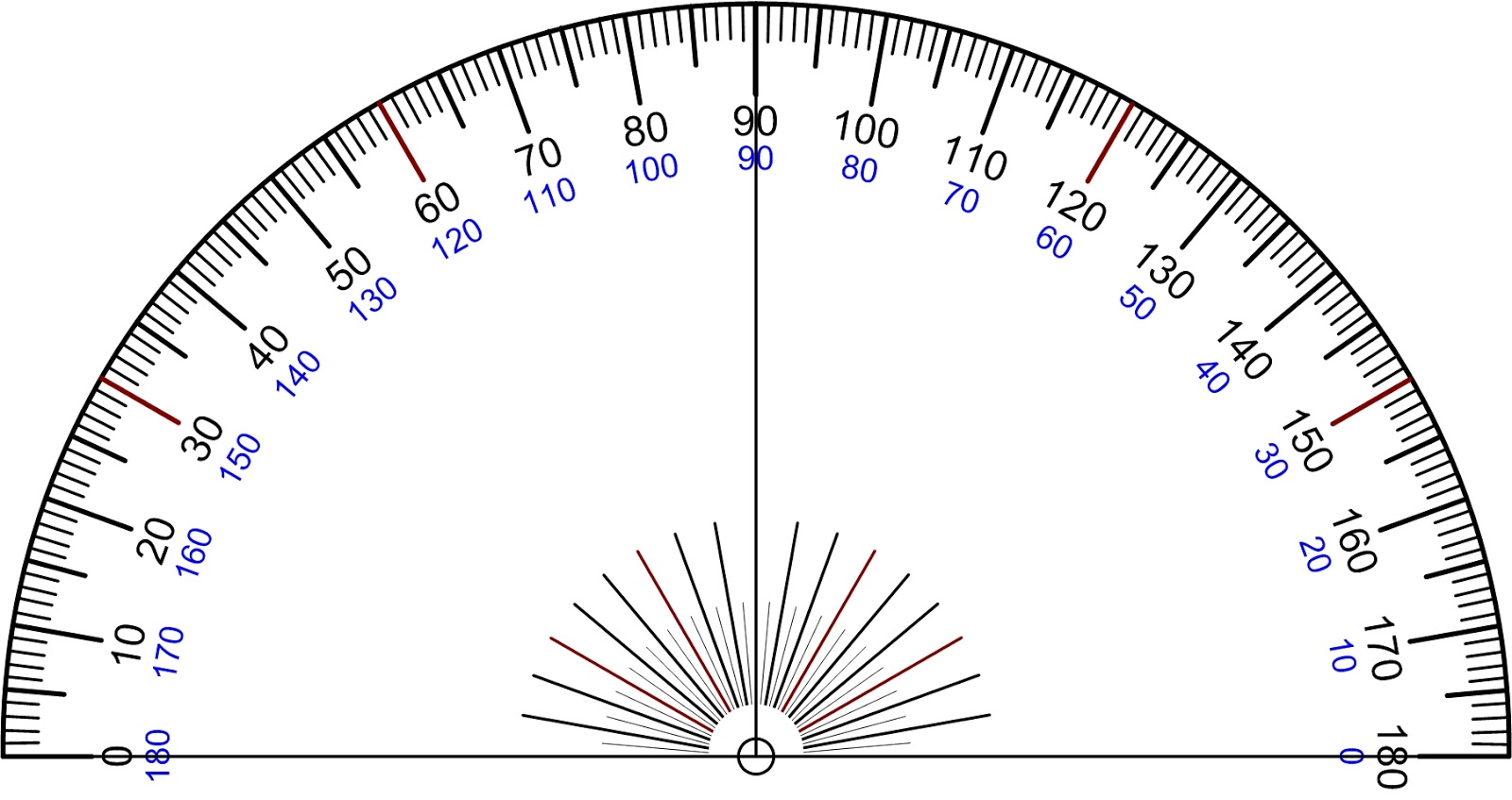 Drawing Angles Using A Protractor | Just another WordPress site on ...