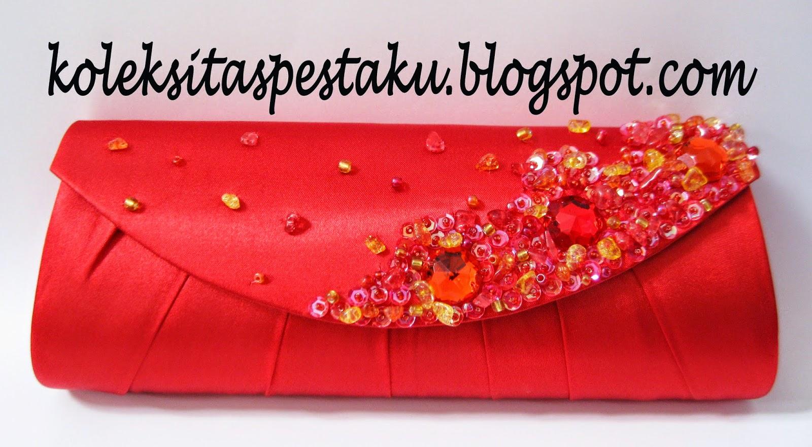 Tas Pesta Merah Cabe Cantik Unik