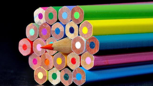 Sharp Color Pencils HD Wallpaper