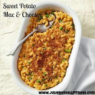 Clean Eating Sweet Potato Macaroni and Cheese