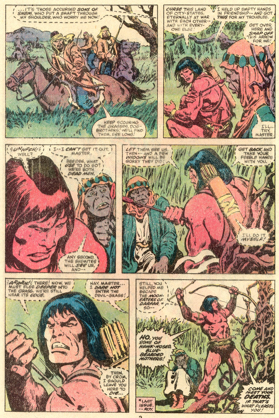 Conan the Barbarian (1970) Issue #109 #121 - English 3