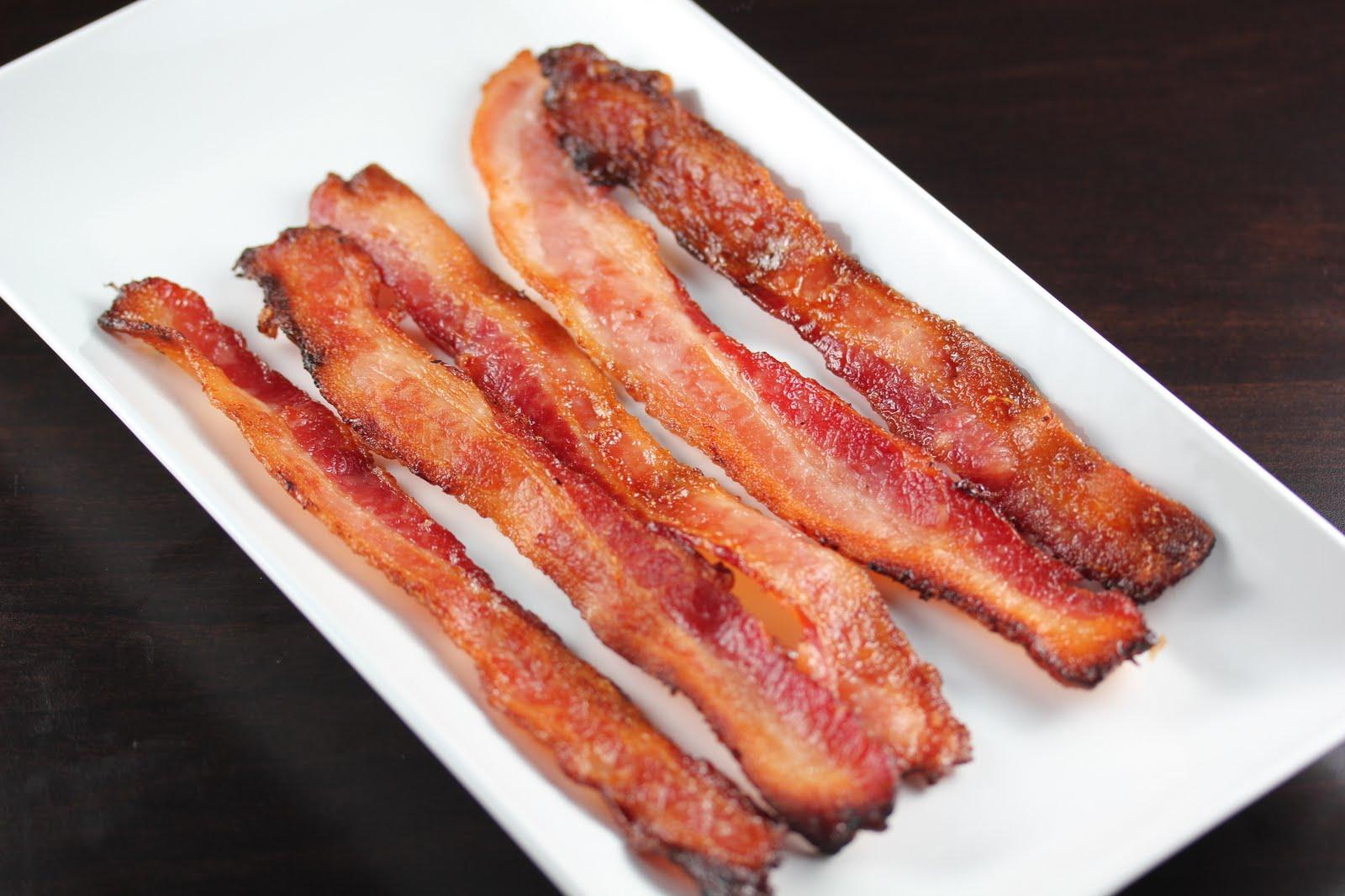 Bacon with eggs  Bacon...