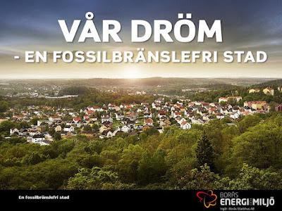 Borås Stad ansluter sig till initiativet Fossilfritt Sverige