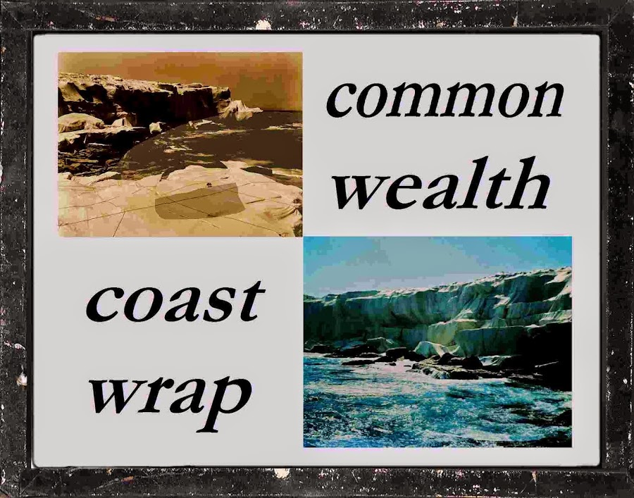 commonwealth CHRISTO australia coast wrapping christo homage HOPE NATURE PRESERVATIon mischa vetere