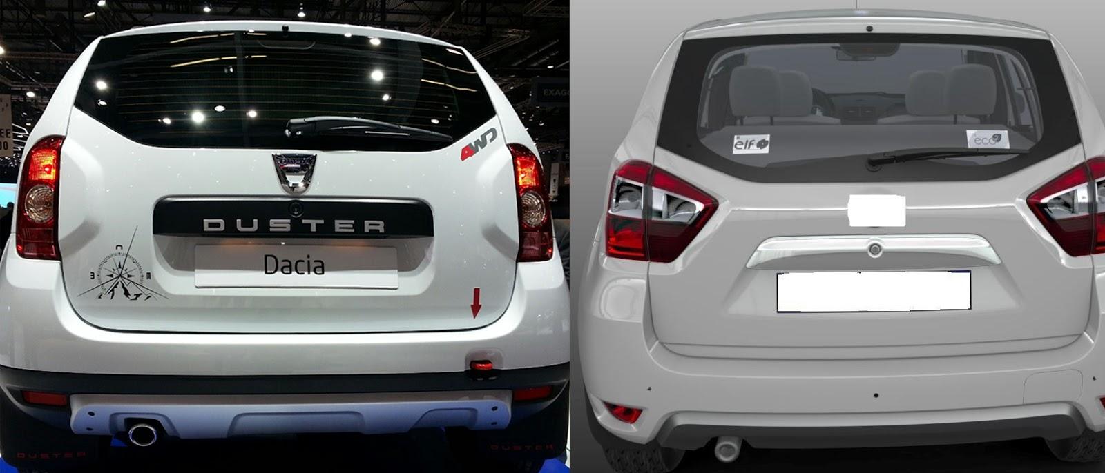 novo Nissan Terrano 2014 comparação