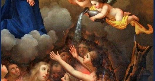 Resultado de imagem para almas benditas do purgatorio