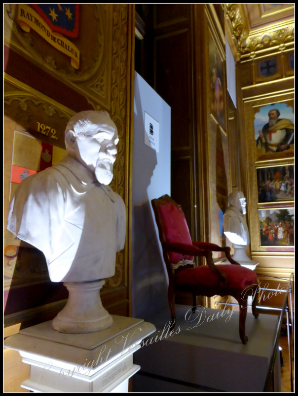 Salle des croisades crusades room Versailles