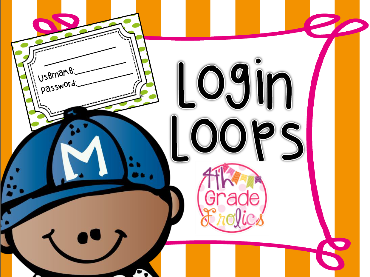http://www.teacherspayteachers.com/Product/Login-Loops-1262684