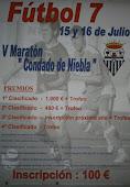 """V Maratón Fútbol 7 """"Condado de Niebla"""""""