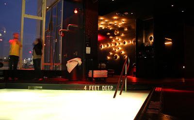 The Standard Hotel New York pool