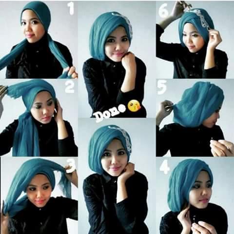ide tutorial memakai jilbab