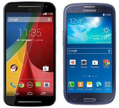 Motorola Moto G 2a Gen vs Samsung Galaxy S3 Neo