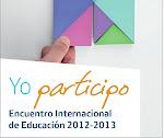 Encuentro Internacional de Educación 2012-2013