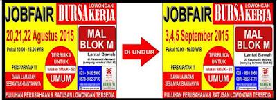 [Job Fair] Jakarta Career Day Terbaru September 2015