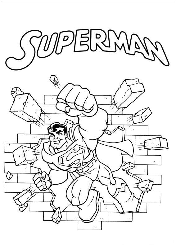 Fantastisch Dc Comics Malvorlagen Galerie - Entry Level Resume ...