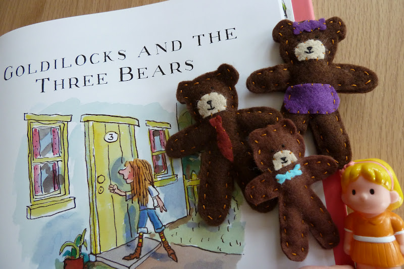 Craft And Travel Story Sacks Goldilocks The Three Bears