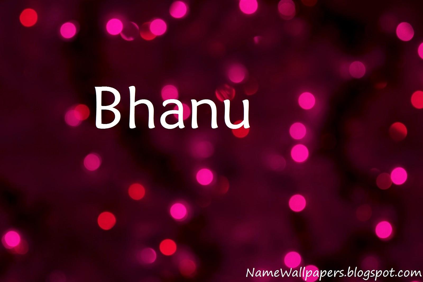 bhanu name wallpapers bhanu name wallpaper urdu name