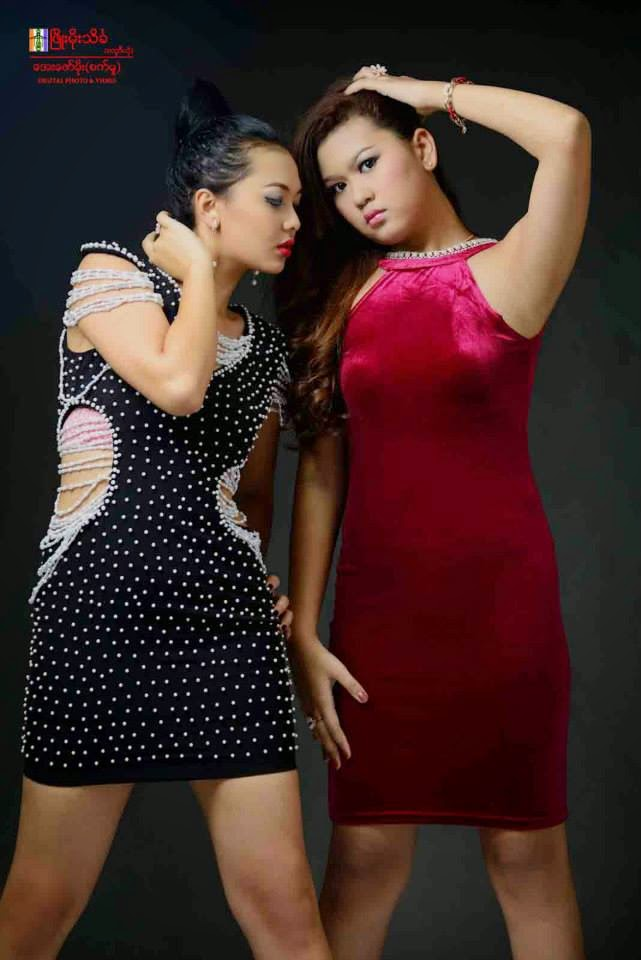 Shwe Mhone Yati - I am Beautiful Studio Photoshoot