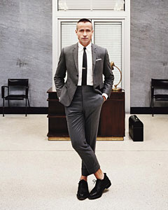 Male Fashion Designer Pee Wee Pants