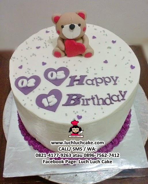 Kue Tart Teddy Bear Daerah Surabaya - Sidoarjo