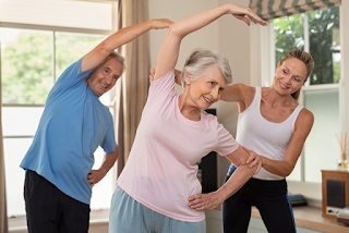 Alongamento Muscular em Idosos