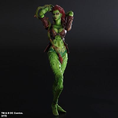 Square Enix Play Arts Arkham Asylum Poison Ivy figure