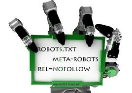 Customize Robots Header Text In blogger