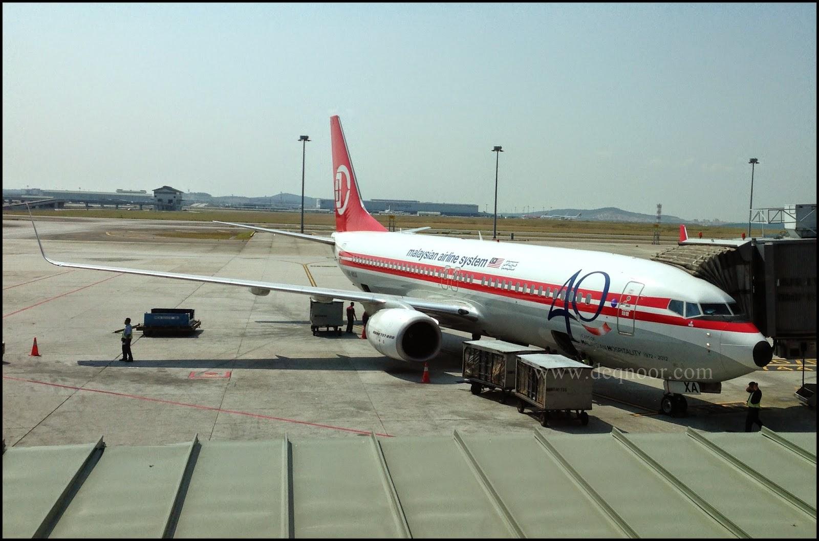 Wajah Baru Kapal Terbang MAS