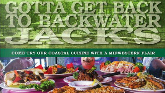 Backwater Jacks Waterfront Bar & Grill: Outstanding Food @ Backwater ...