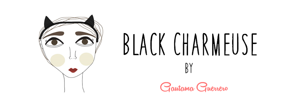 Black Charmeuse