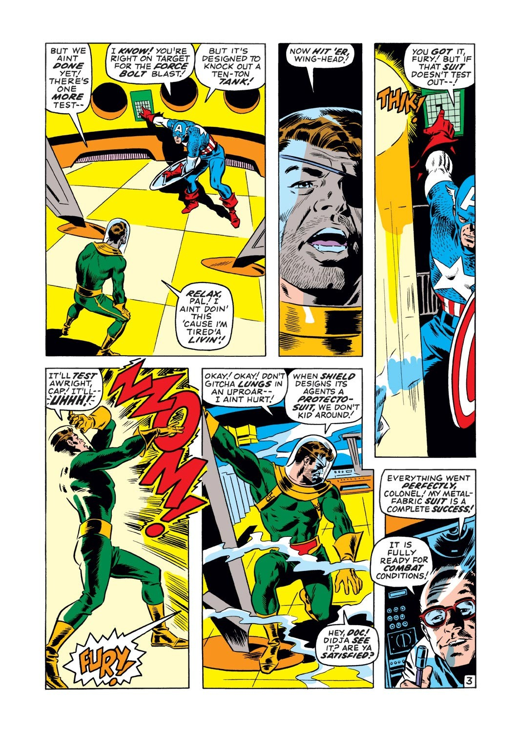 Captain America (1968) Issue #127 #41 - English 4